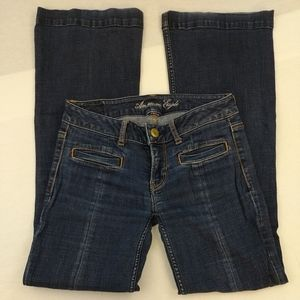 American Eagle hipster stretch jeans size 2